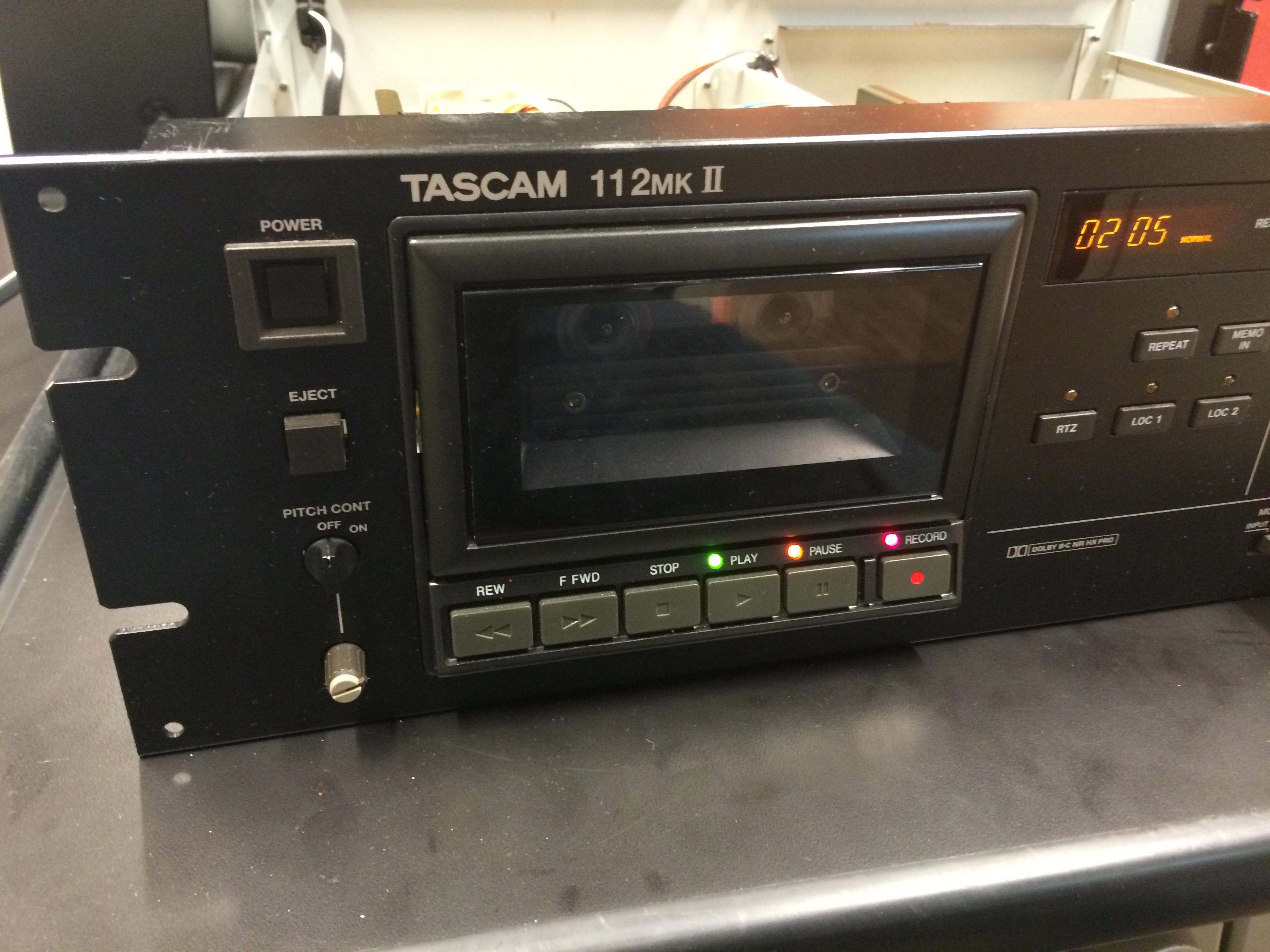 Cassette Deck Repair, Round 1