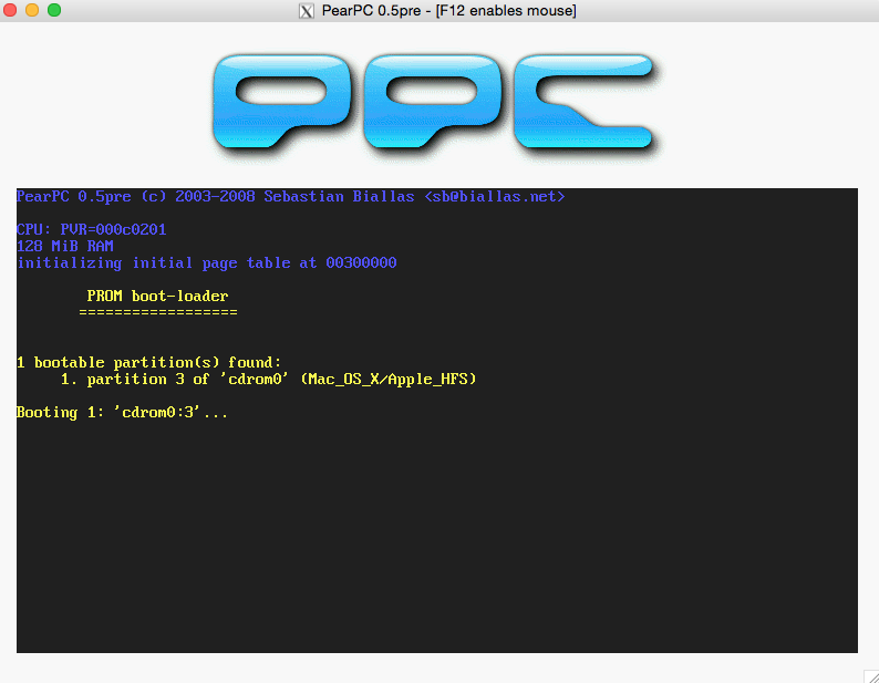 PowerPC Mac Emulation